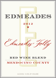 Edmeades 2012 Edmeades' Folly Red Wine Blend