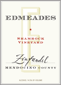 Shamrock Vineyard Zinfandel